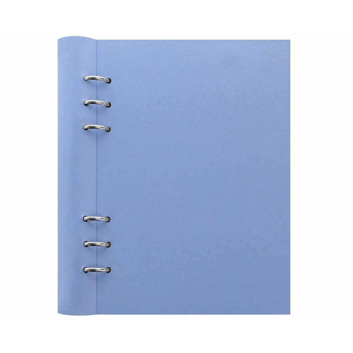 Filofax Refillable Clipbook Planner A5 Blue