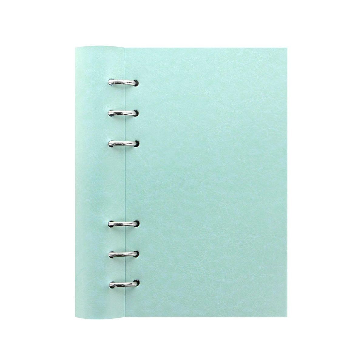 Filofax Refillable Clipbook Planner Personal Duck Egg