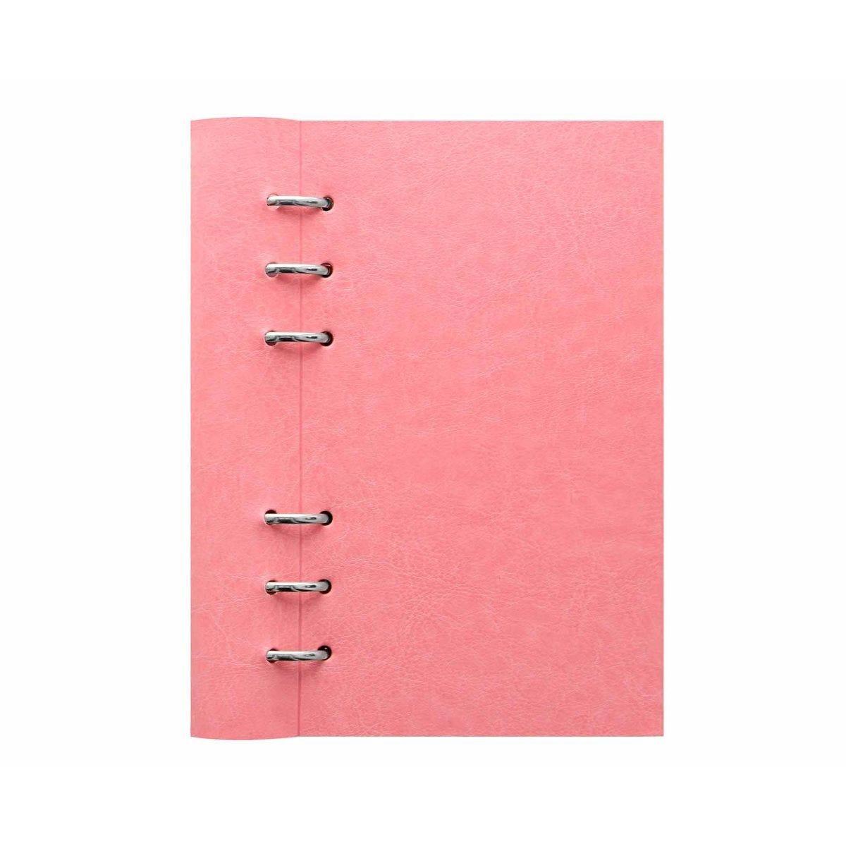 Filofax Refillable Clipbook Planner Personal Rose