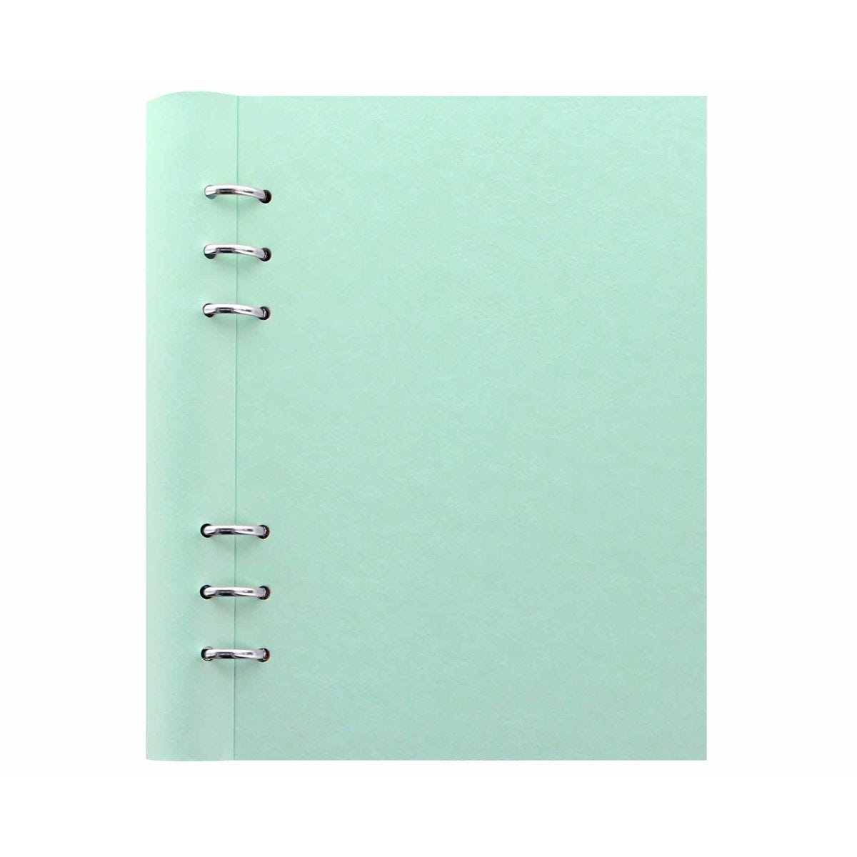 Filofax Refillable Clipbook Planner A5 Duck Egg
