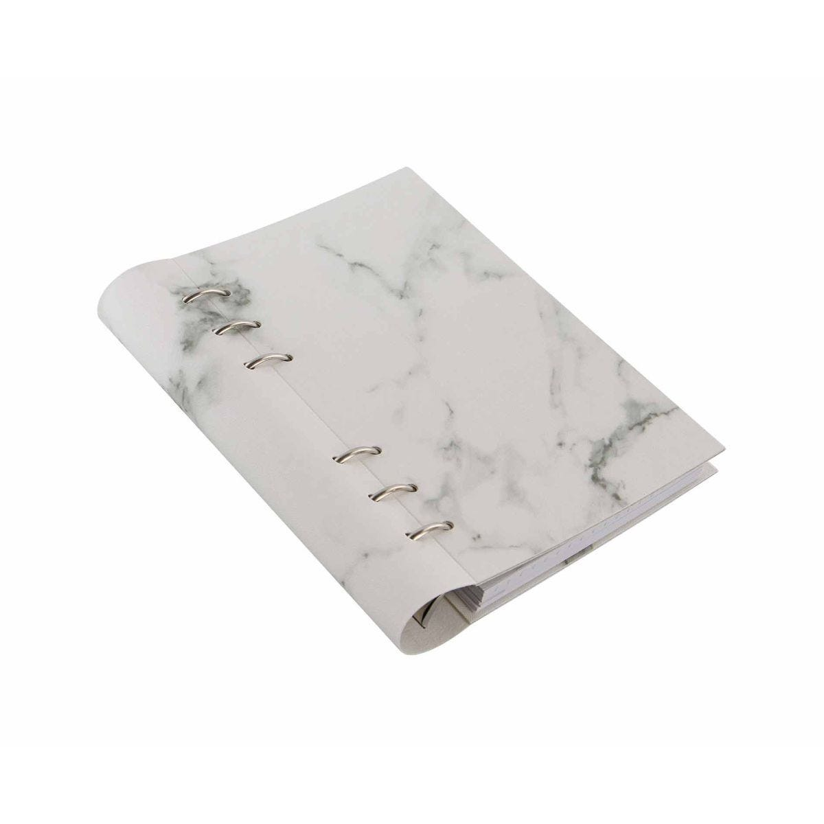 Filofax Refillable Clipbook Planner Personal Marble