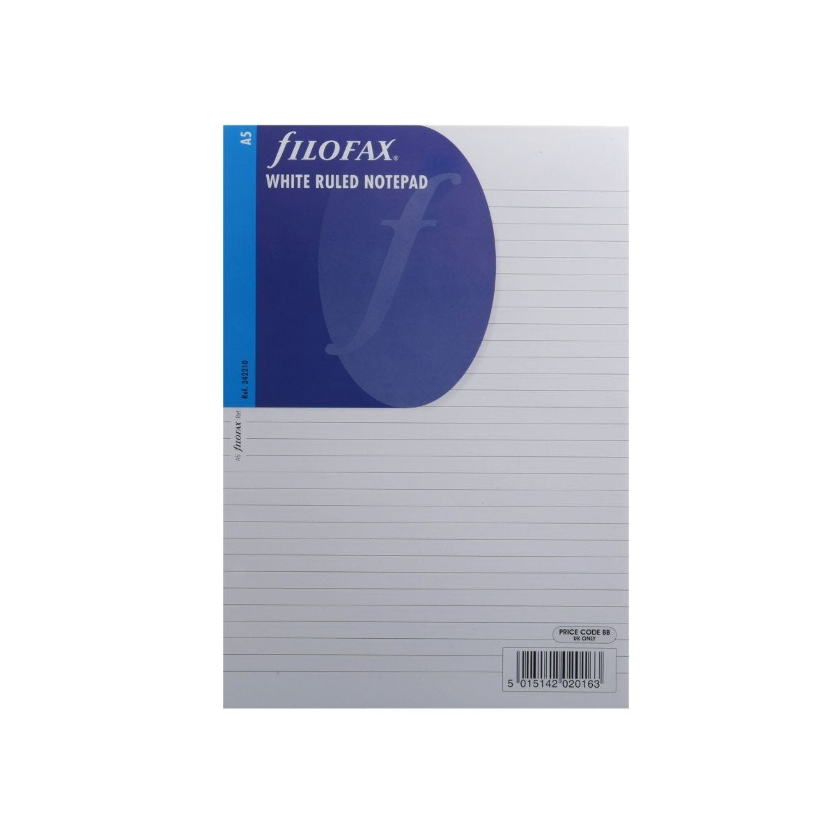 Filofax Refill A5 Notepad 50 Sheets