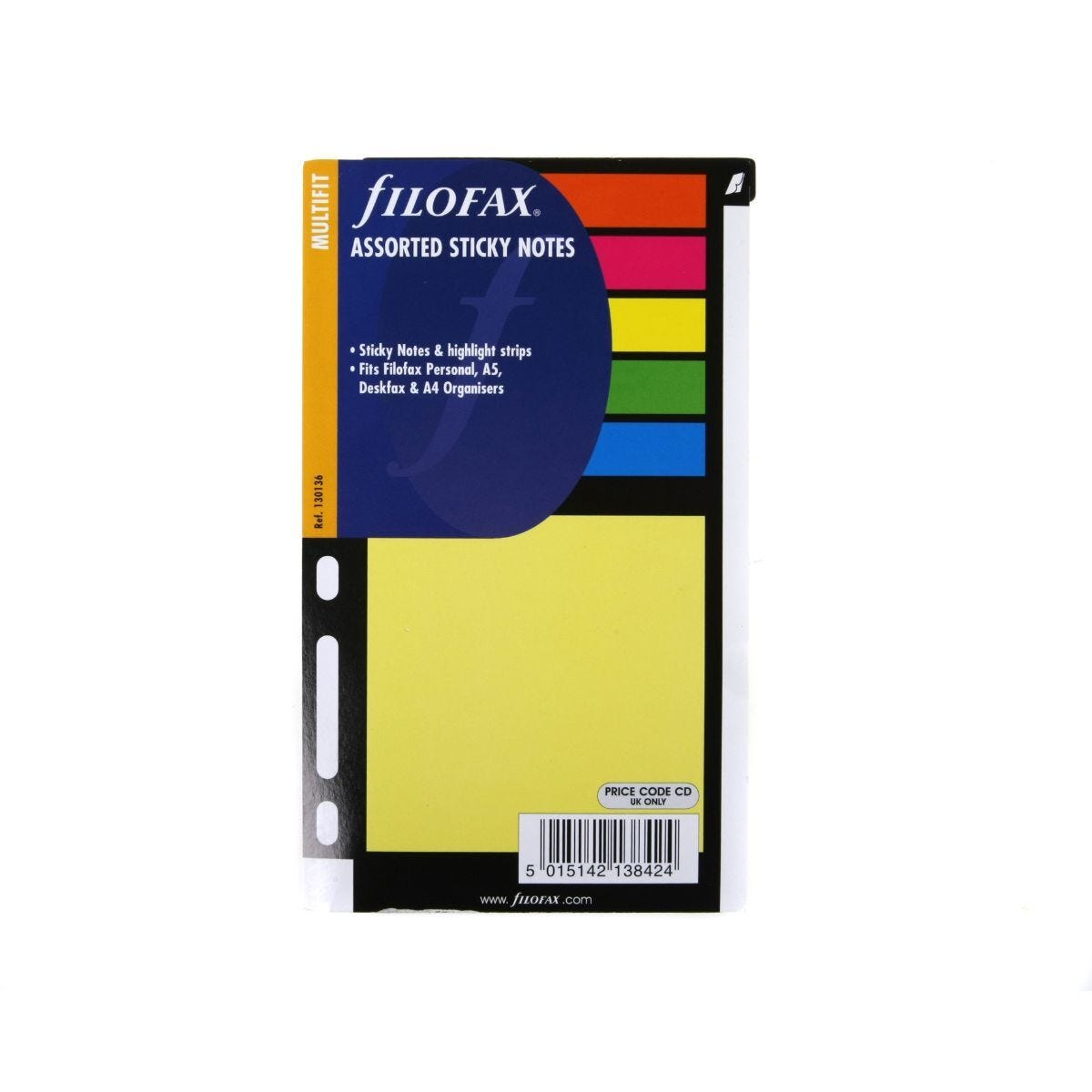 Filofax Sticky Notes Personal Large