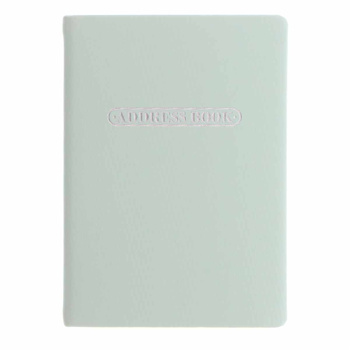Letts Pastel A5 Address Book Duck Egg Blue