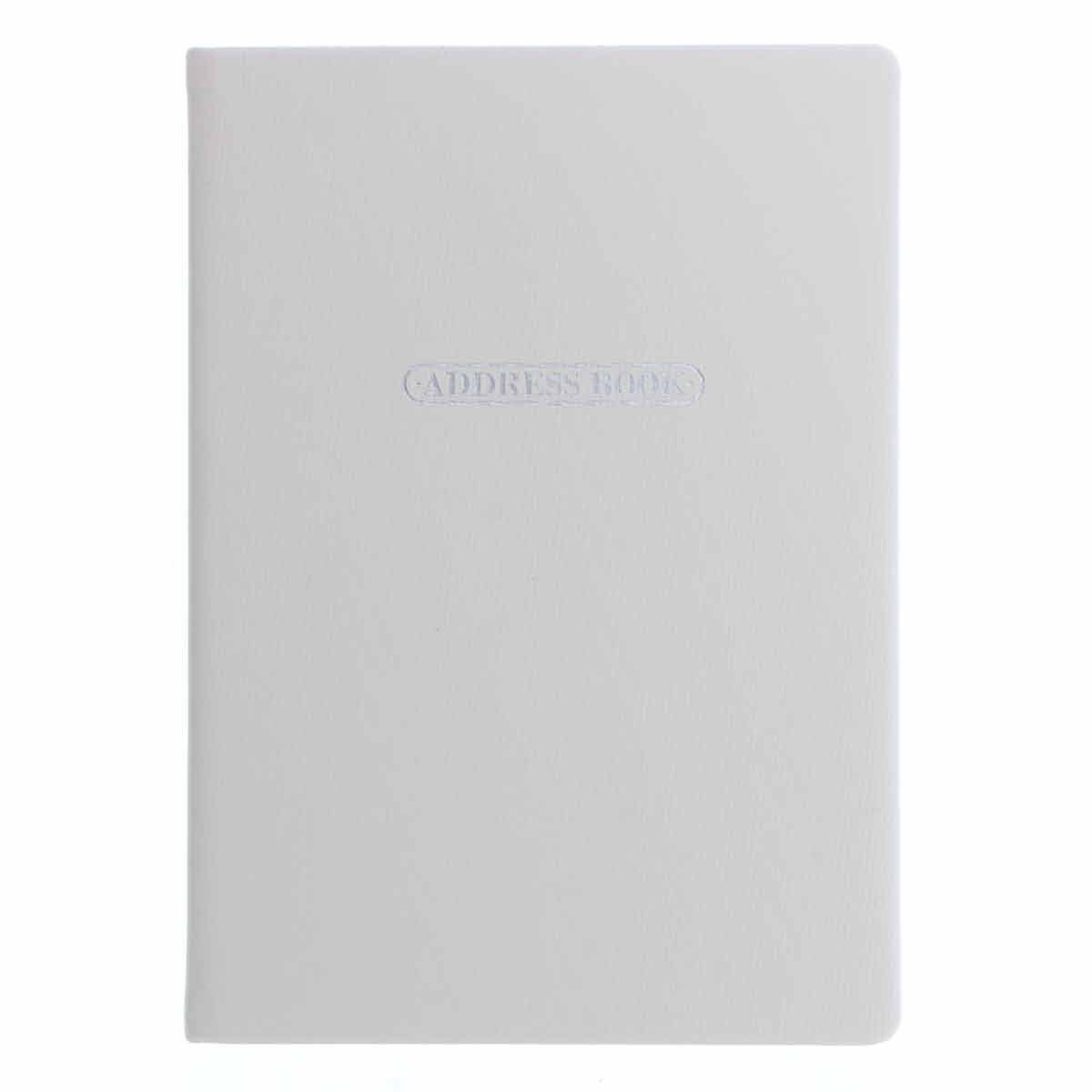 Letts Pastel A5 Address Book Stone