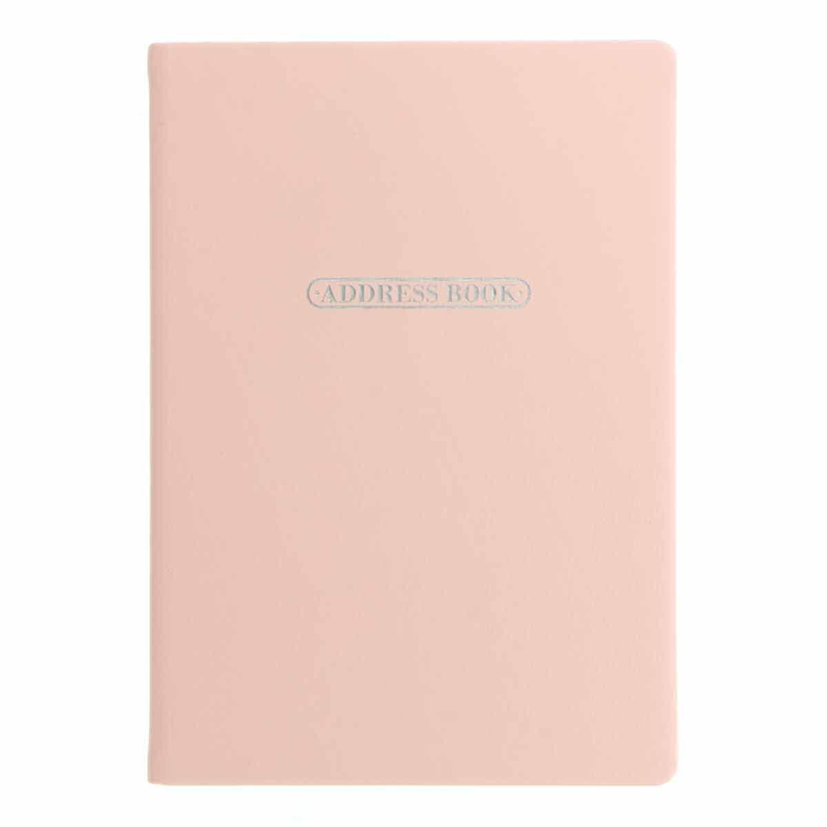Letts Pastel A5 Address Book Peach