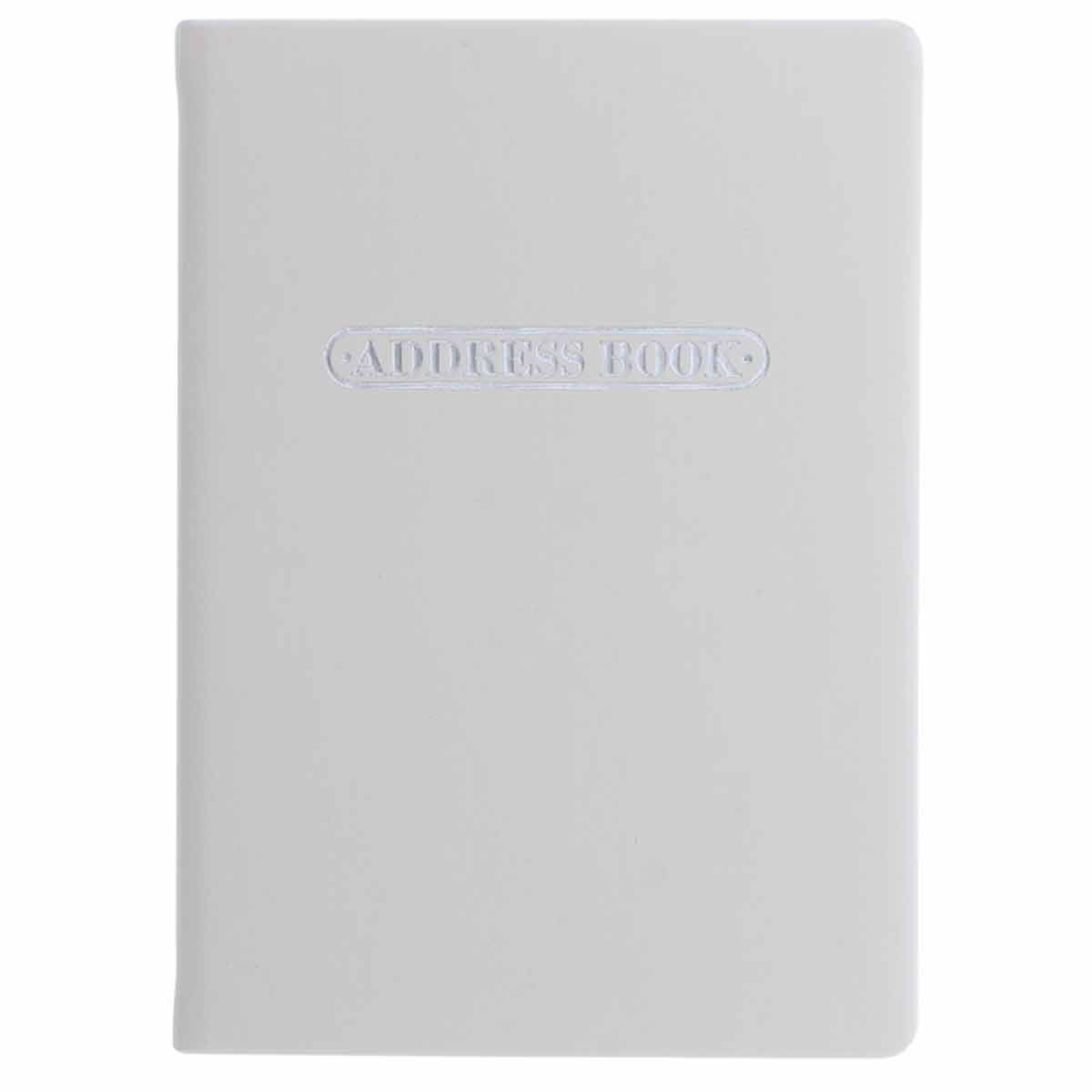 Letts Pastel A6 Address Book Stone
