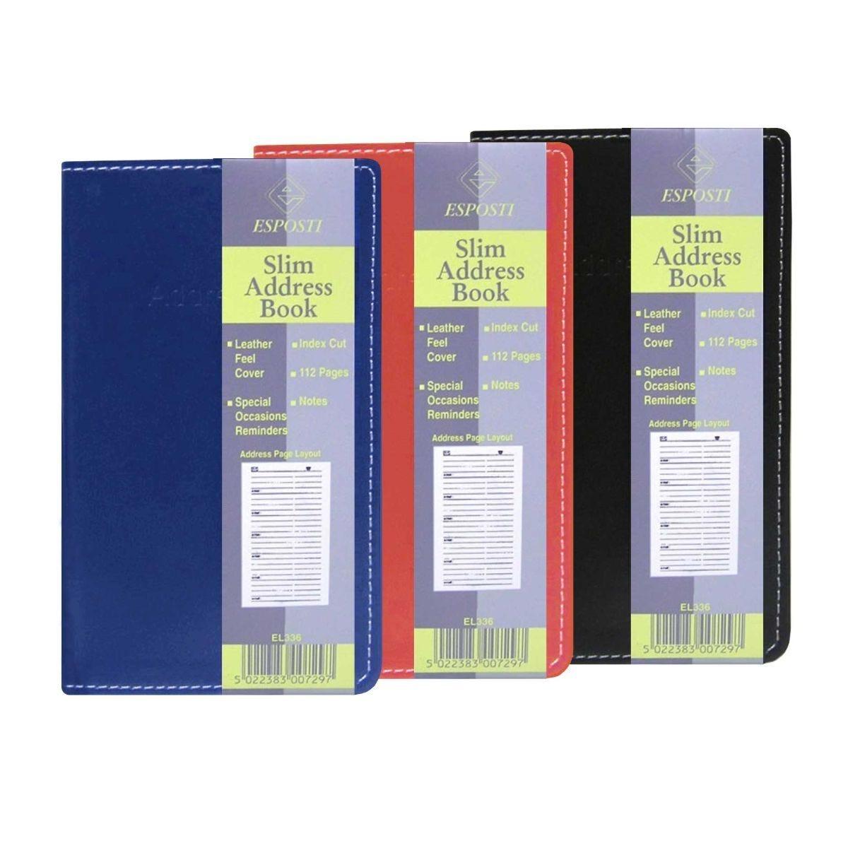 Esposti Address Book Slim