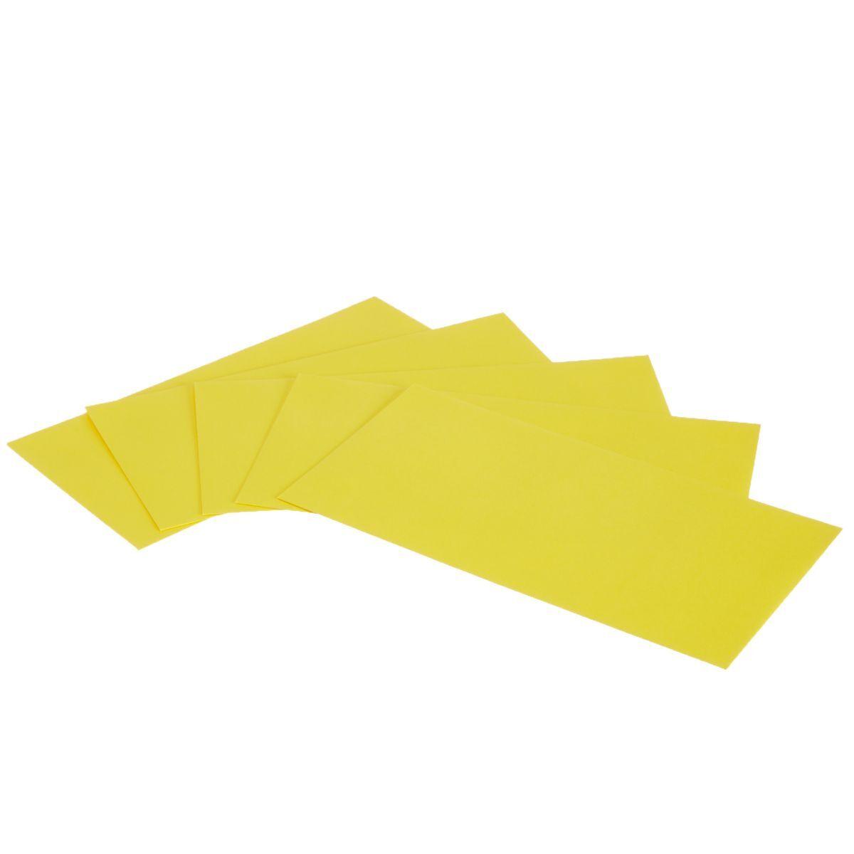 Pollen Self Seal Envelope  DL 120gsm Intensive Yellow