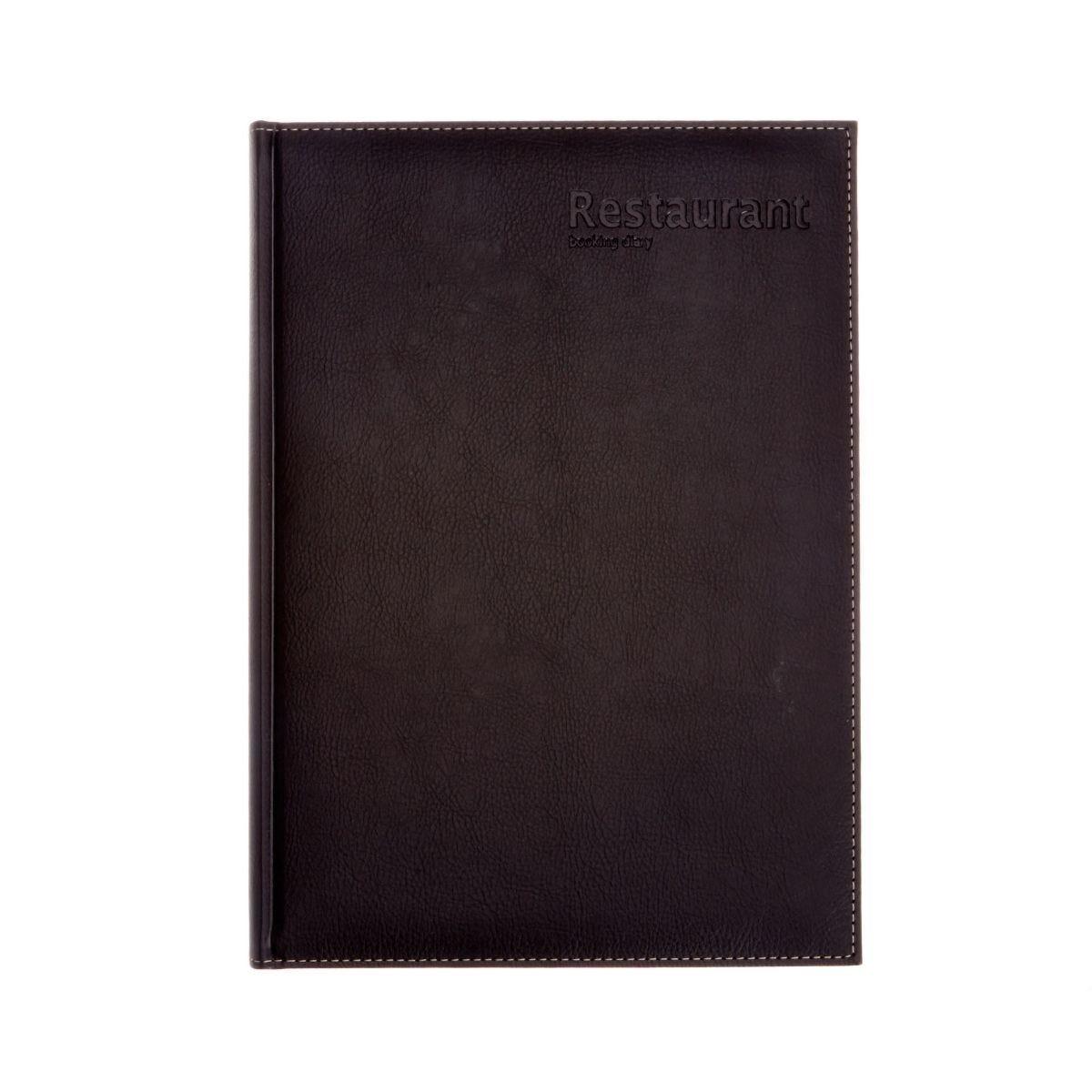 Castelli Restaurant Booking Diary Black