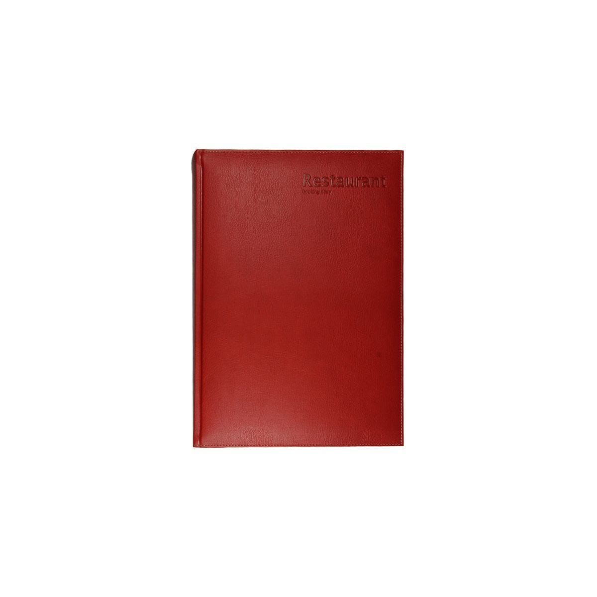 Castelli Restaurant Booking Diary Red