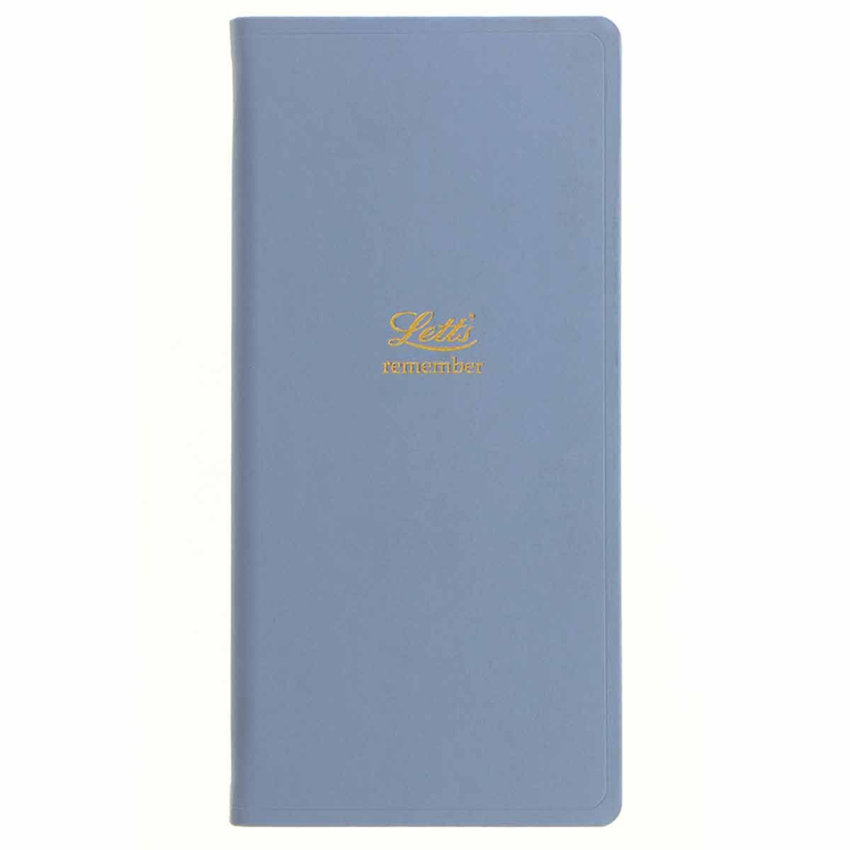 Letts Remember Password Book Blue