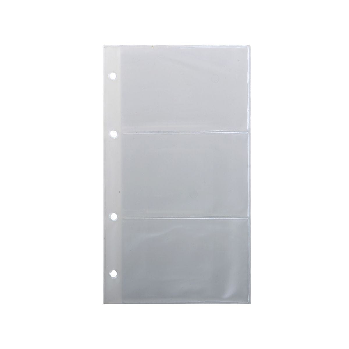 Ryman Business Card Holder Pack of 10 Holds 60 Cards