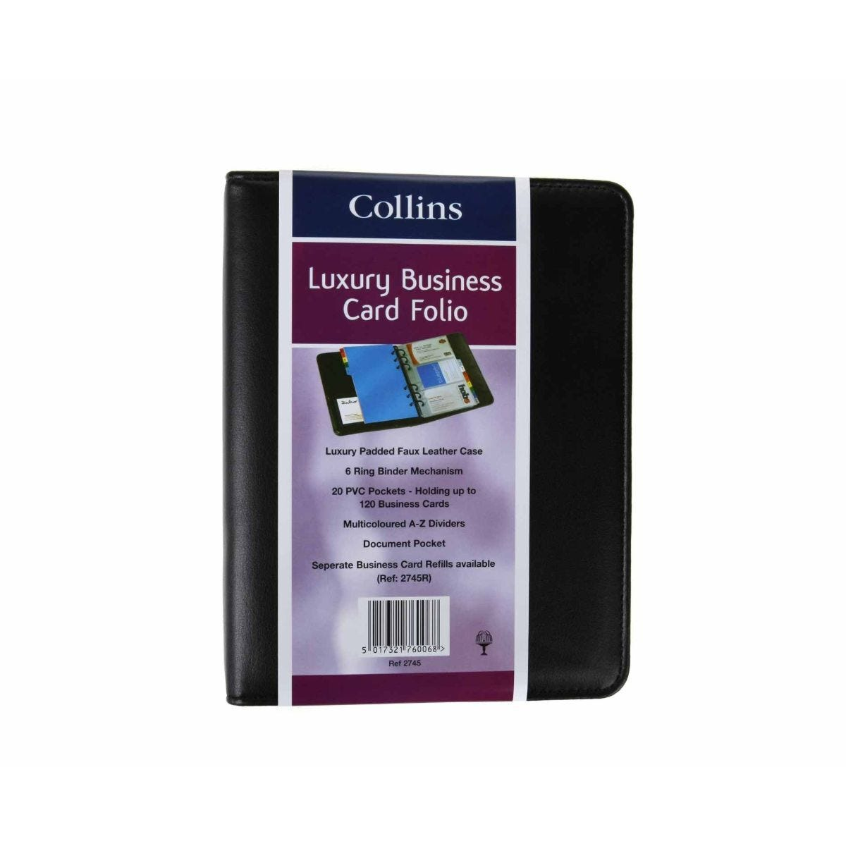 Collins Deluxe Business Card Holder