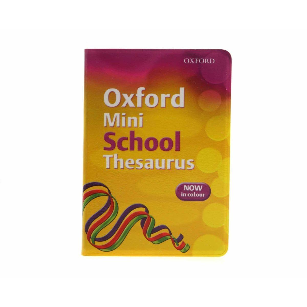 Oxford Thesaurus Mini School