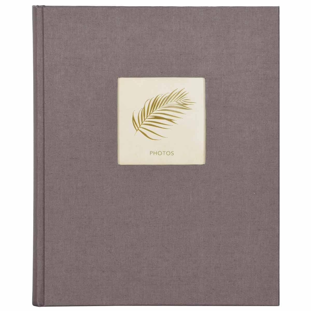 Innova Linen Self Adhesive Bookbound Photo Album 50 Pages
