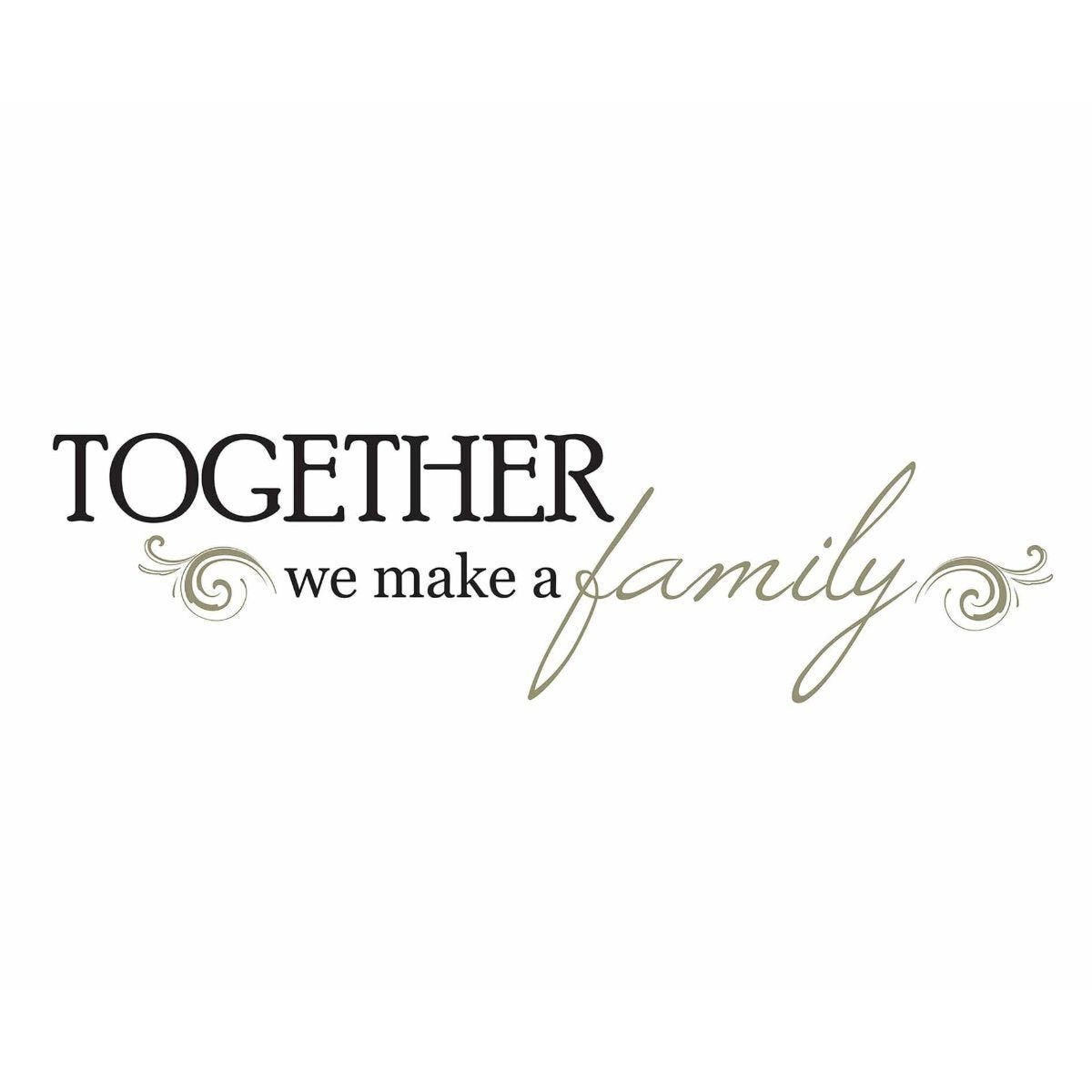 Together Quote Wall Decor