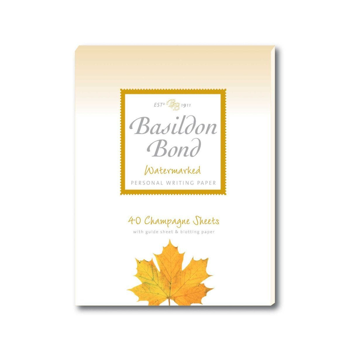 Basildon Bond Writing Pad 175x135mm 90gsm 80 Pages 40 Sheets