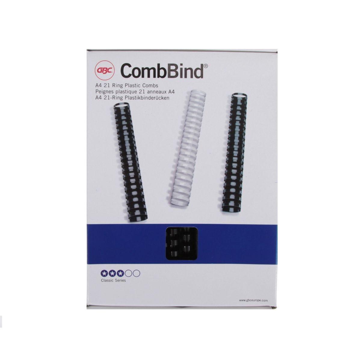 GBC Comb Bindings 16mm BX 100 A4