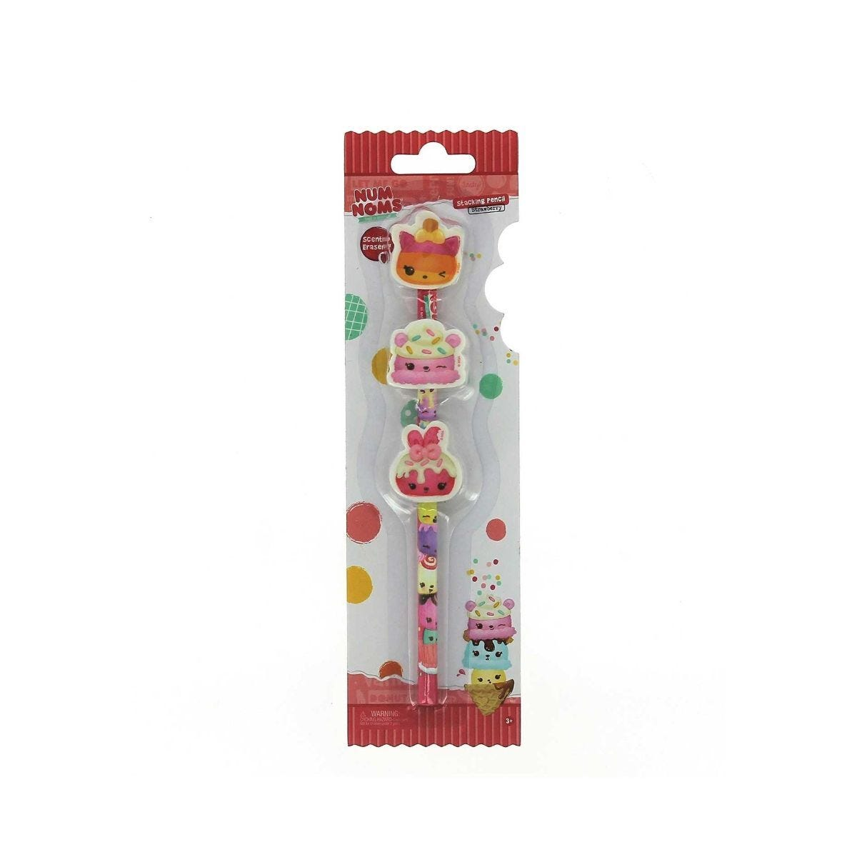 Num Noms Stacking Pencil with Scented Erasers