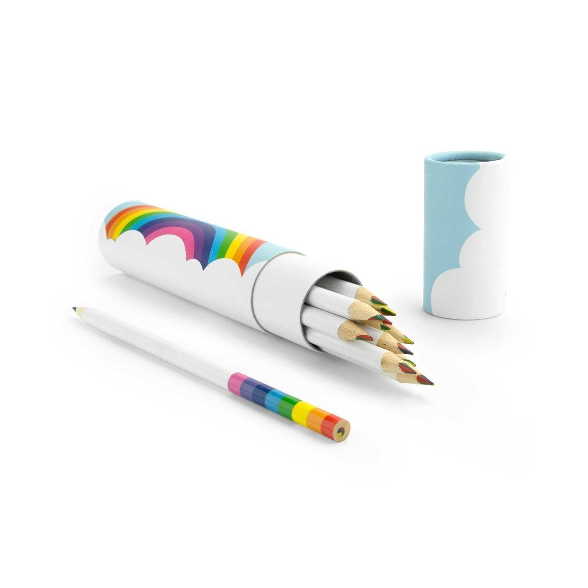 Rainbow Pencils in Tube Pack of 12