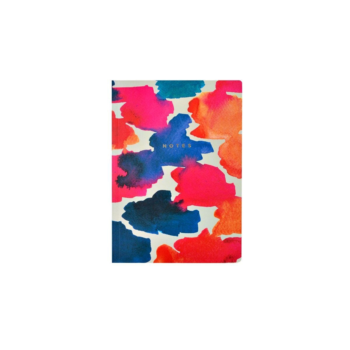 The Notebook Collection Journal Watercolour Dash A5