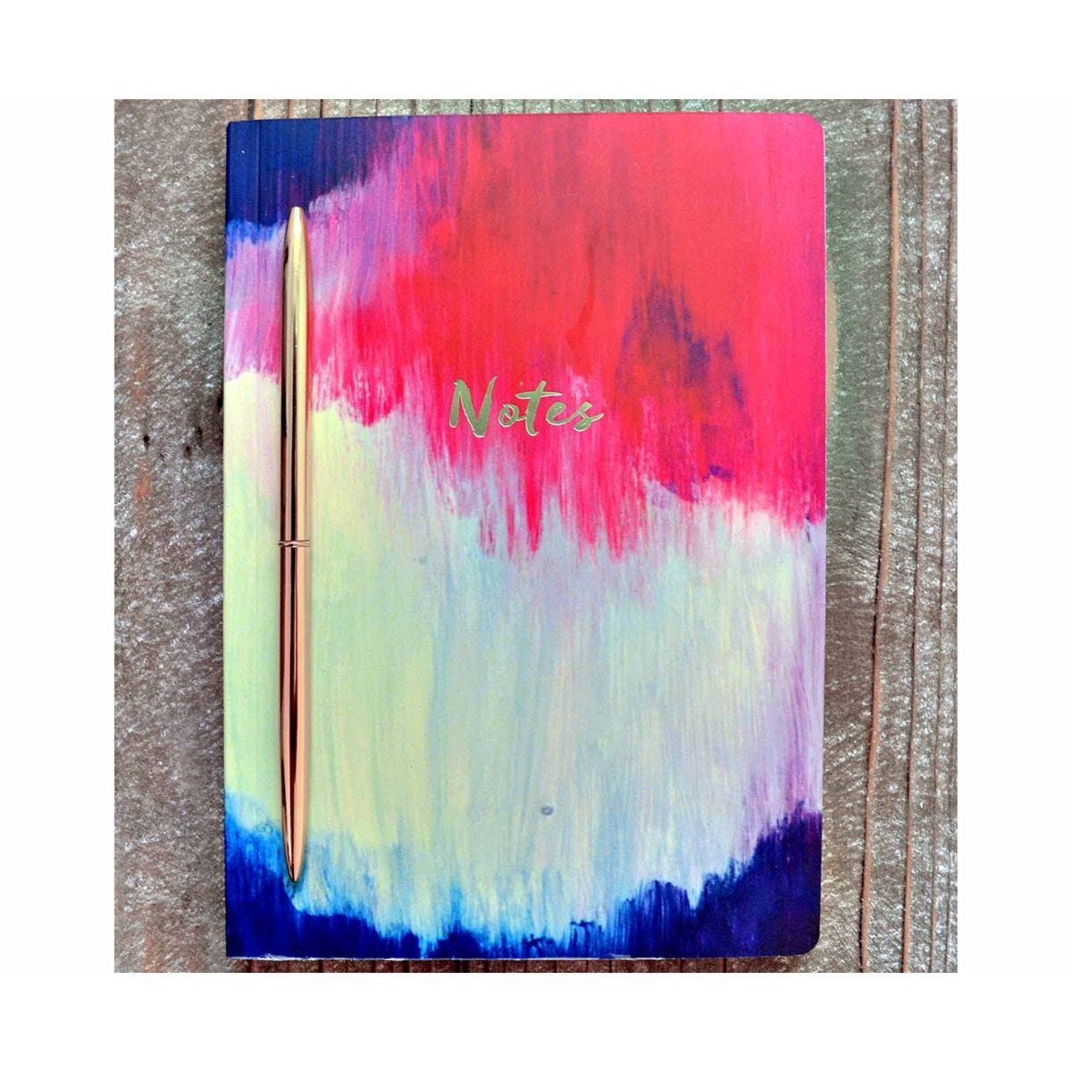 The Notebook Collection Journal Watercolour Abstract A5