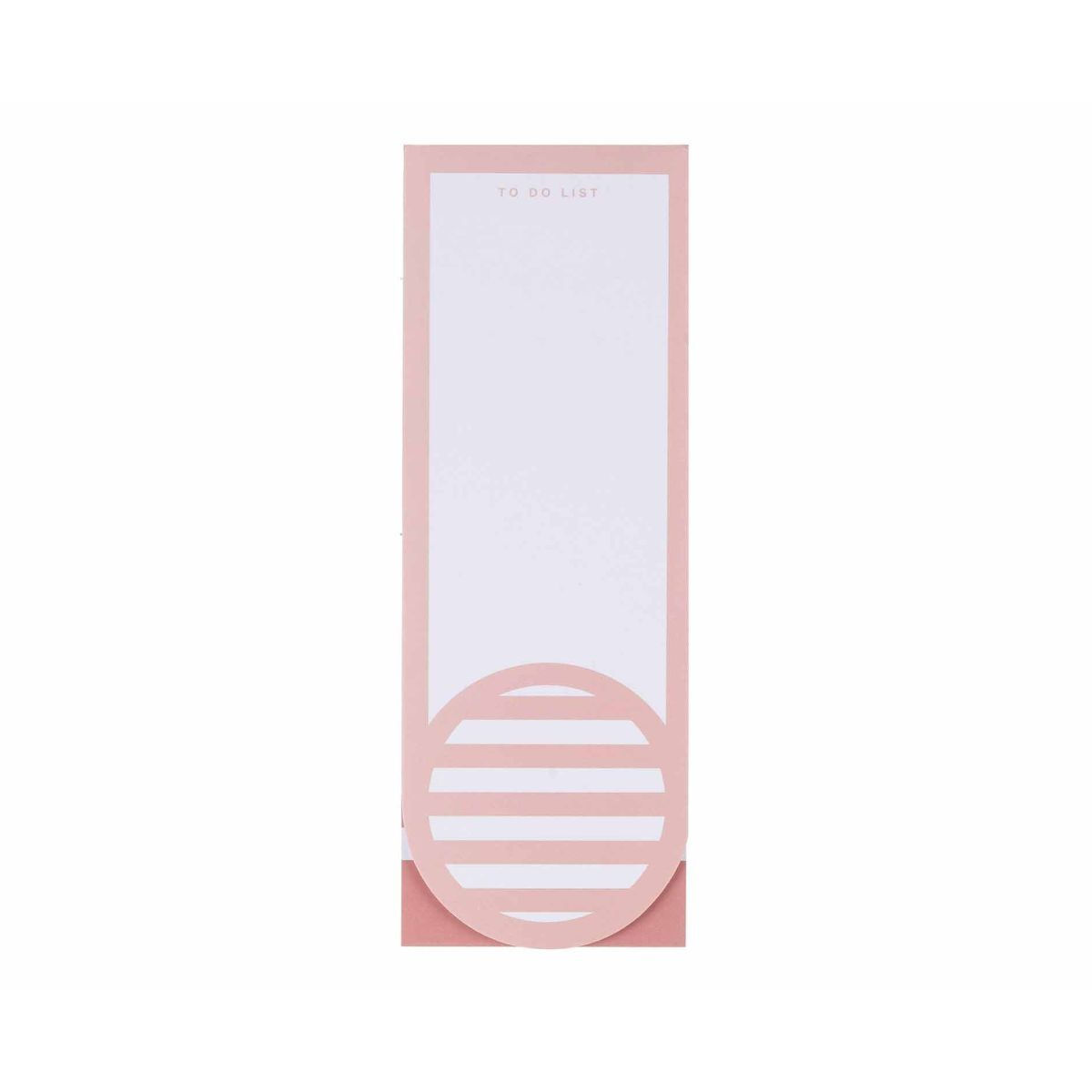 Ryman To Do List Light Pink
