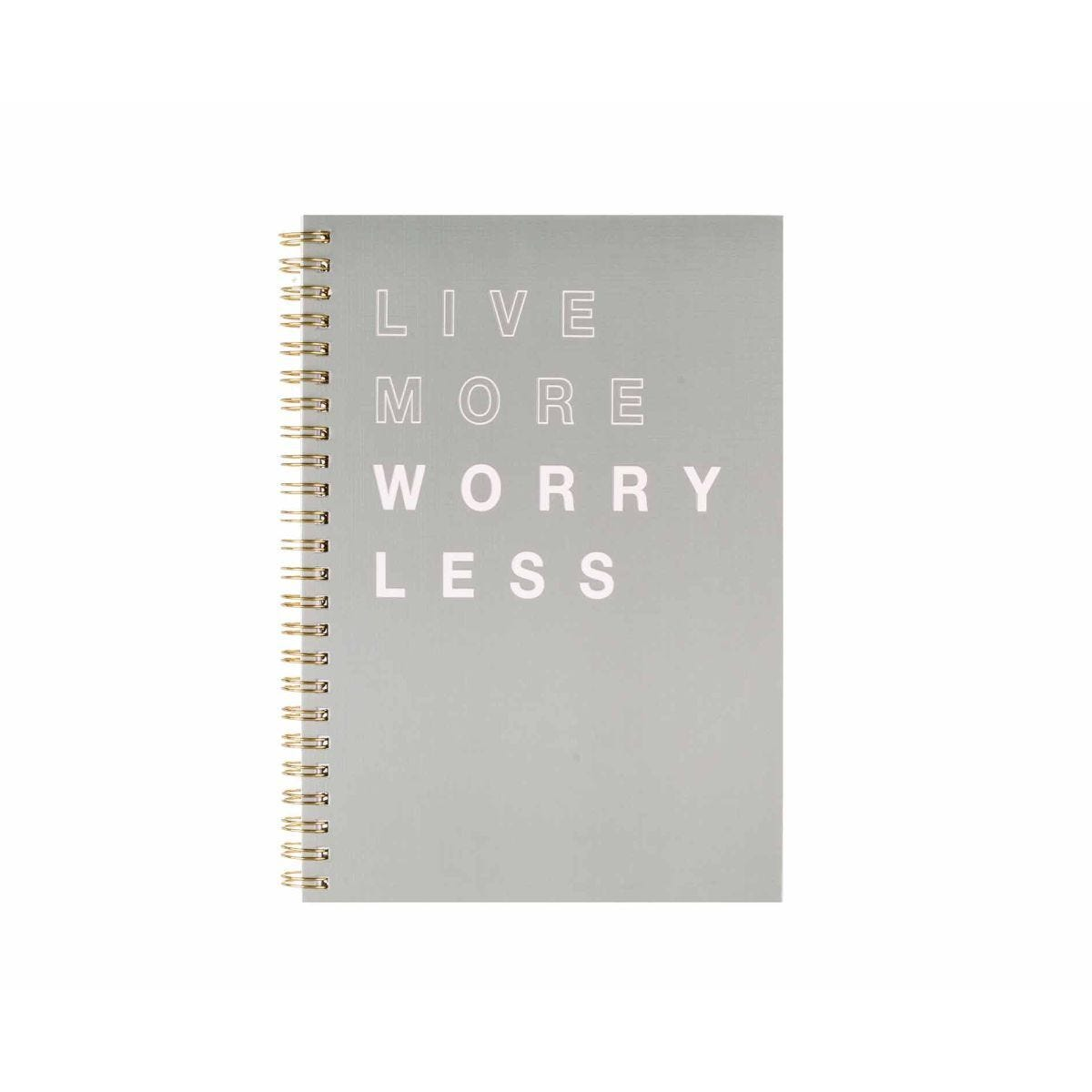 Ryman A5 Spiral Notebook Grey