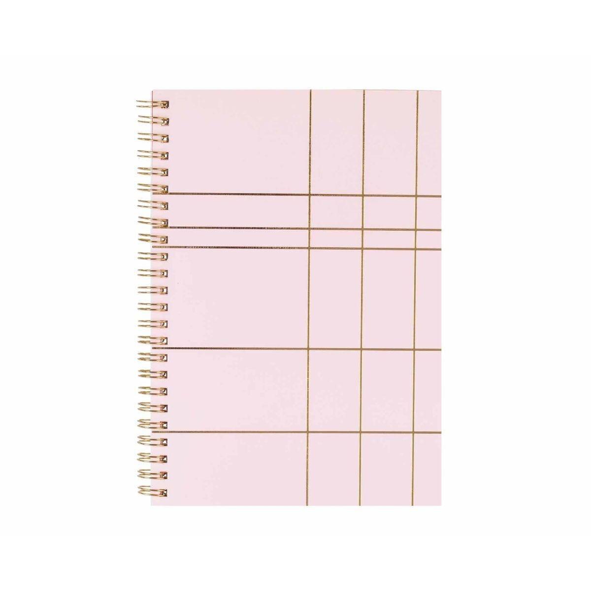 Ryman A5 Spiral Notebook Light Pink