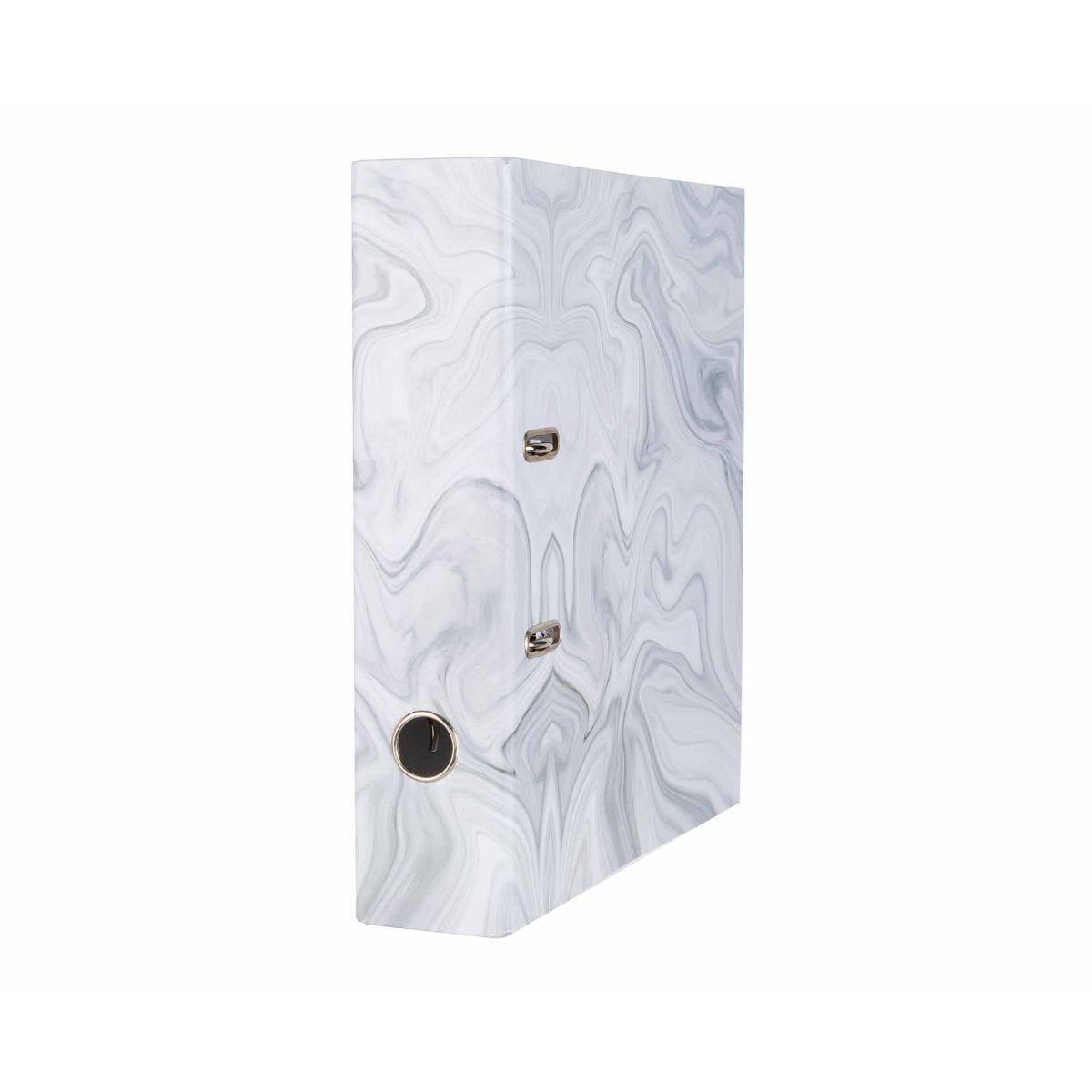 Ryman Lever Arch File Marble Grey