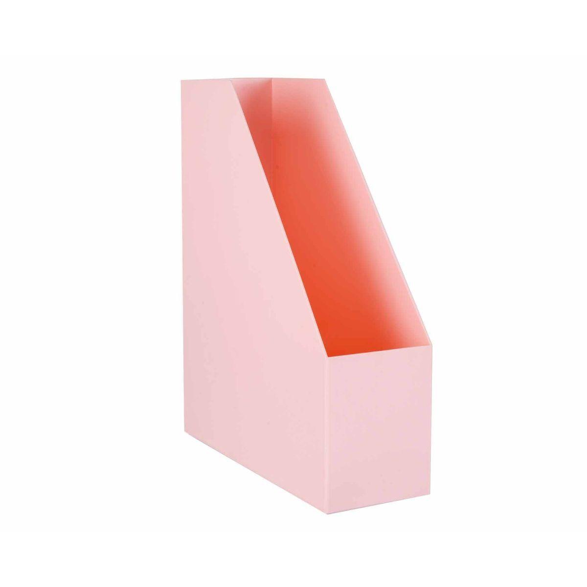 Ryman Magazine File Light Pink