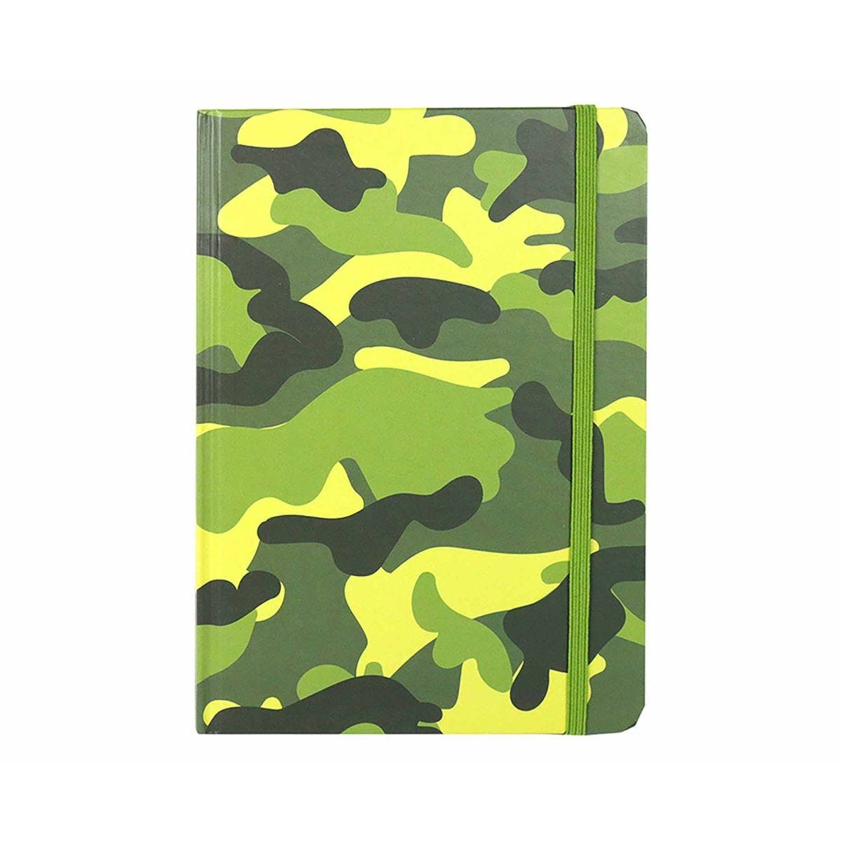 Camouflage Notebook Ruled A5