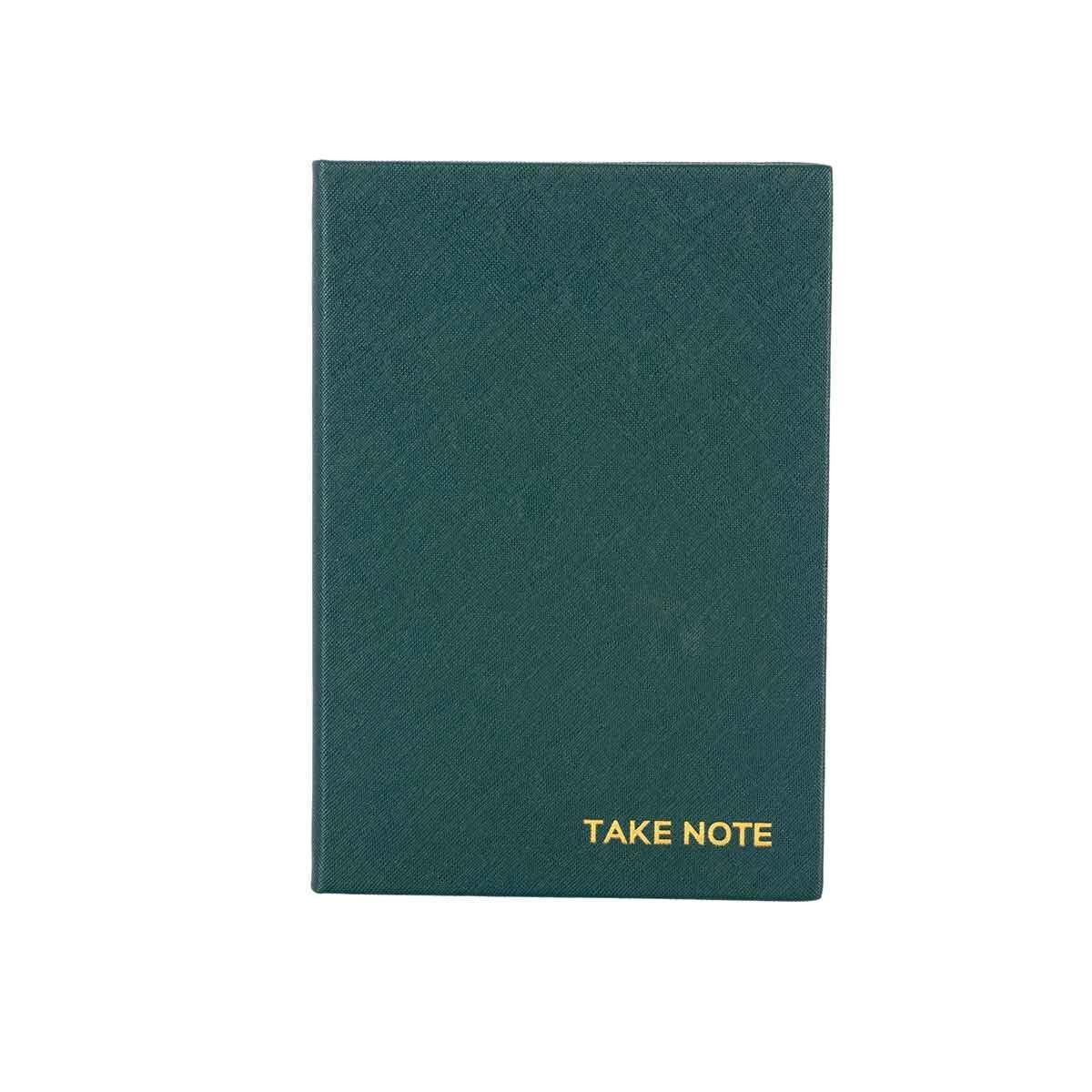 Eden Deep Green A5 Notebook