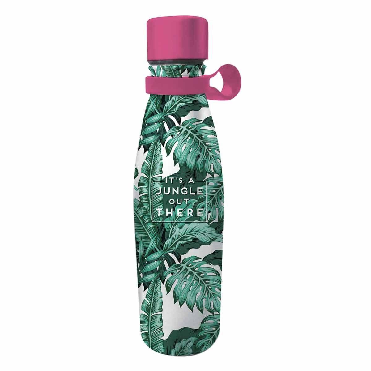 Legami Hot and Cold Vacuum Bottle Jungle