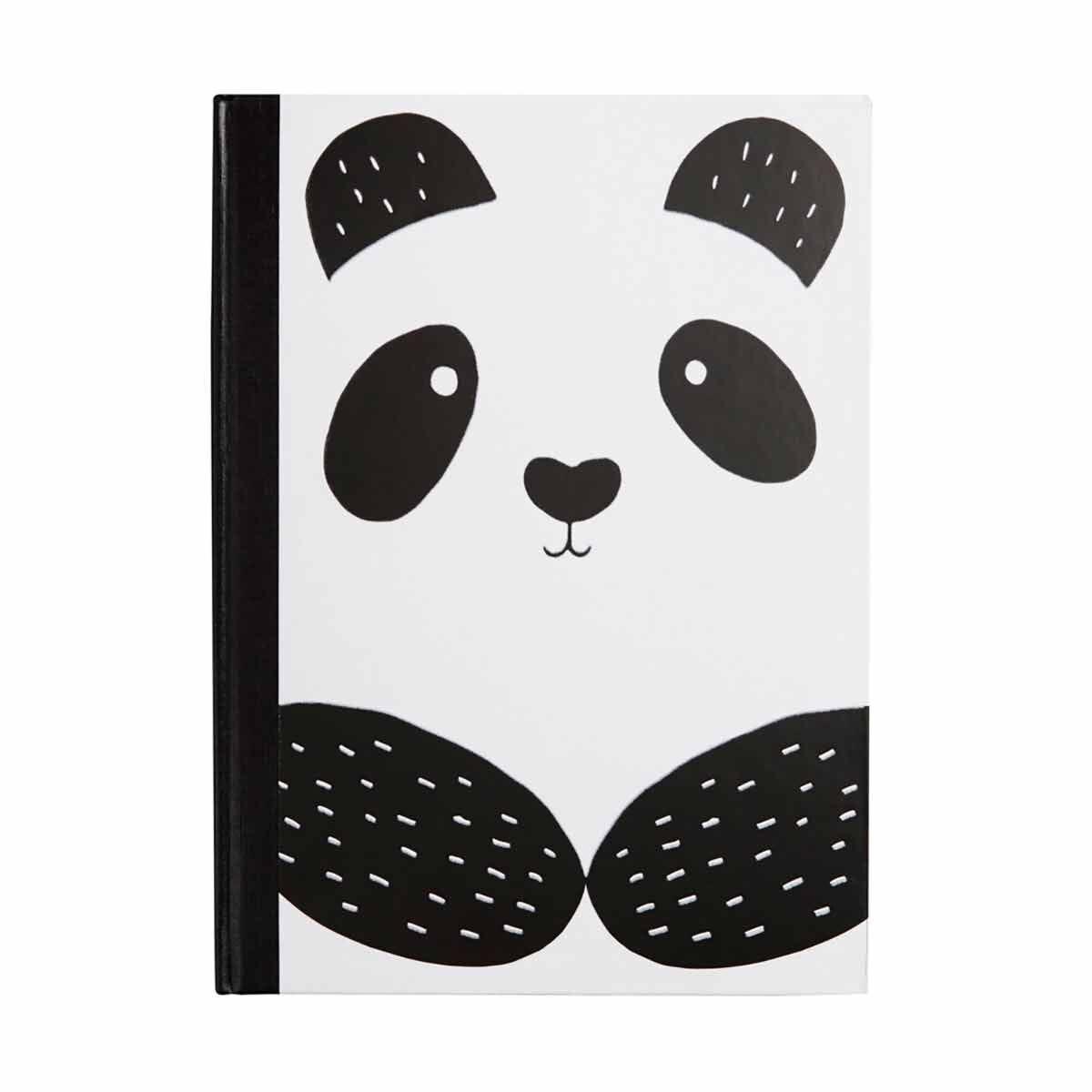 Panda Luxury Hardcover Notebook A4