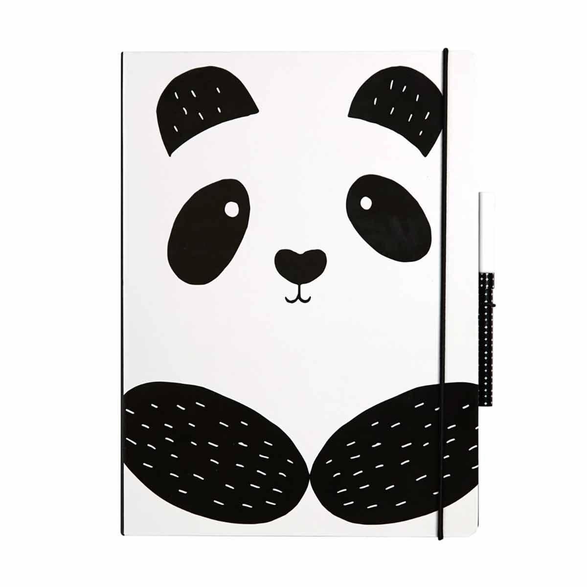 Panda Luxury A4 Notepad Set