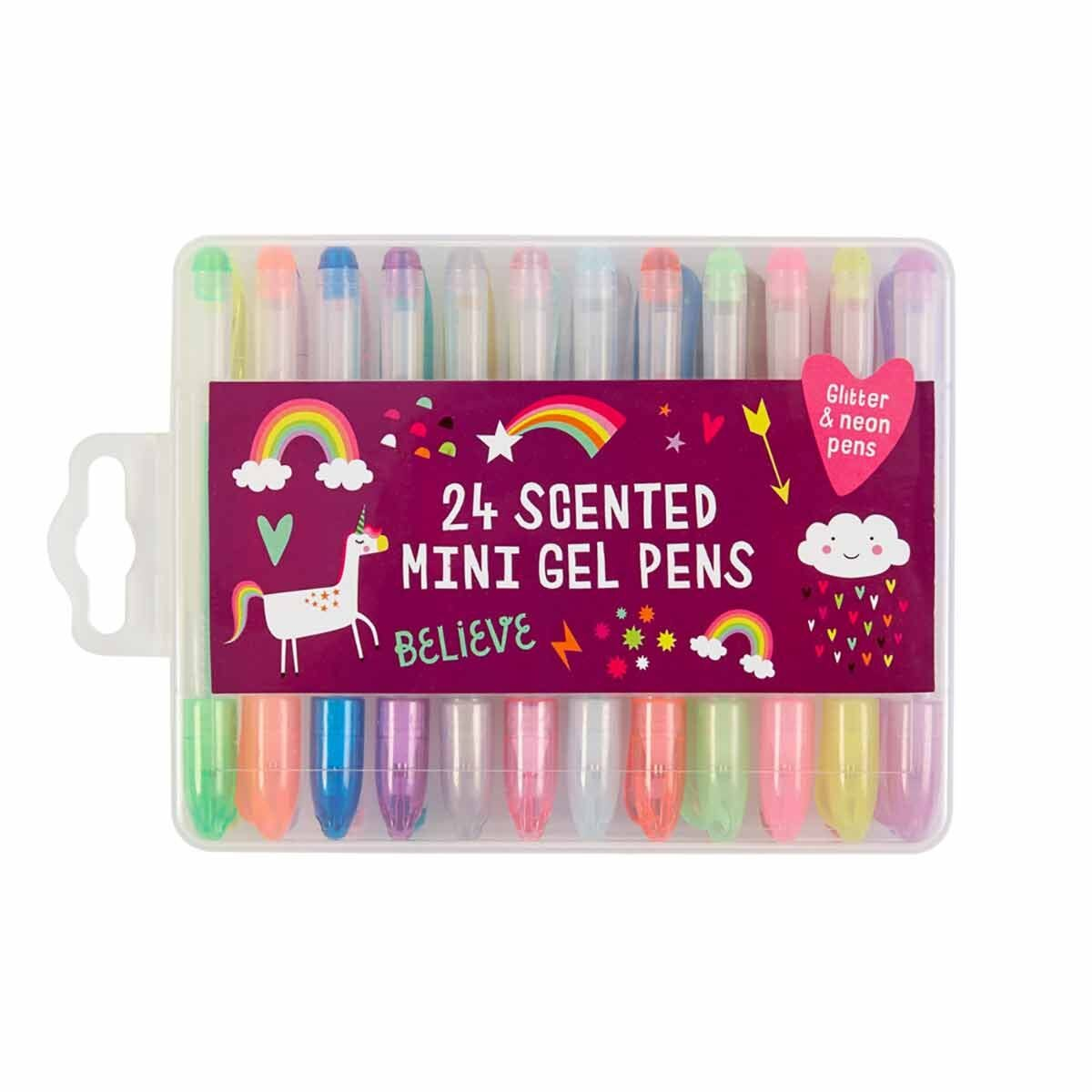 Unicorn Dreams Scented Mini Gel Pens Pack of 20