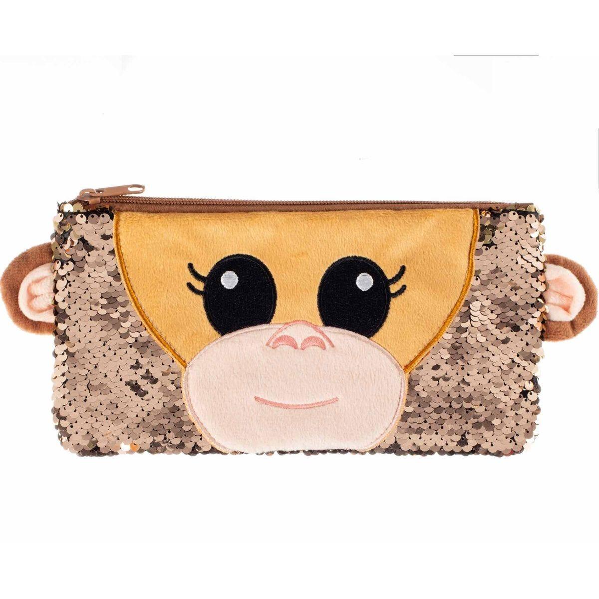 Animouth Monkey Pencil Case