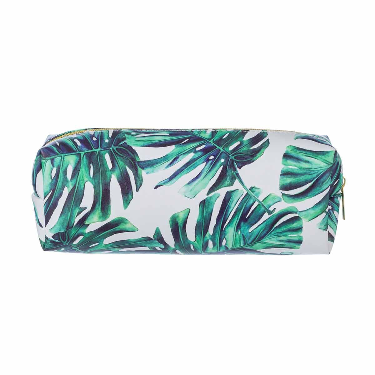 Palm Print Wedge Pencil Case
