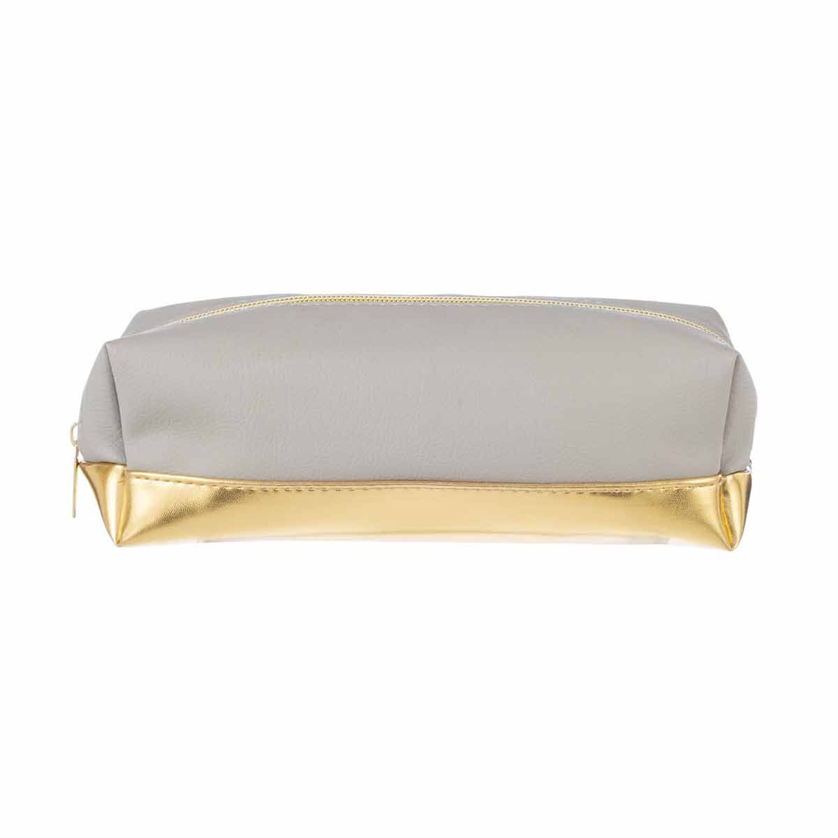 Stone and Gold Pencil Case