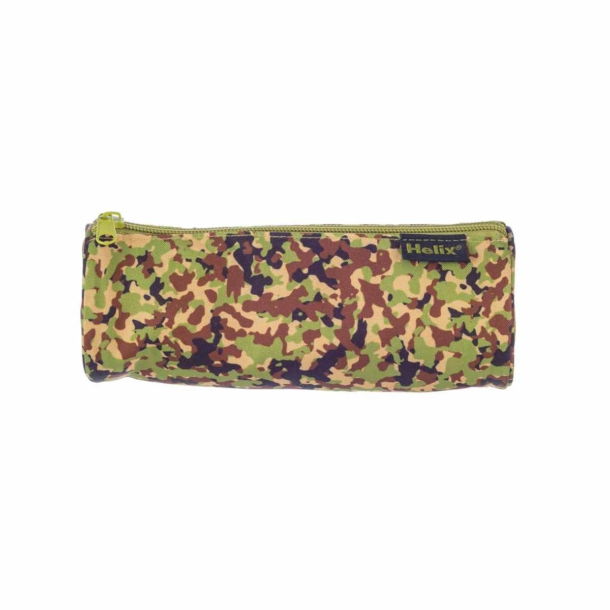 Helix Green Camo Pencil Case