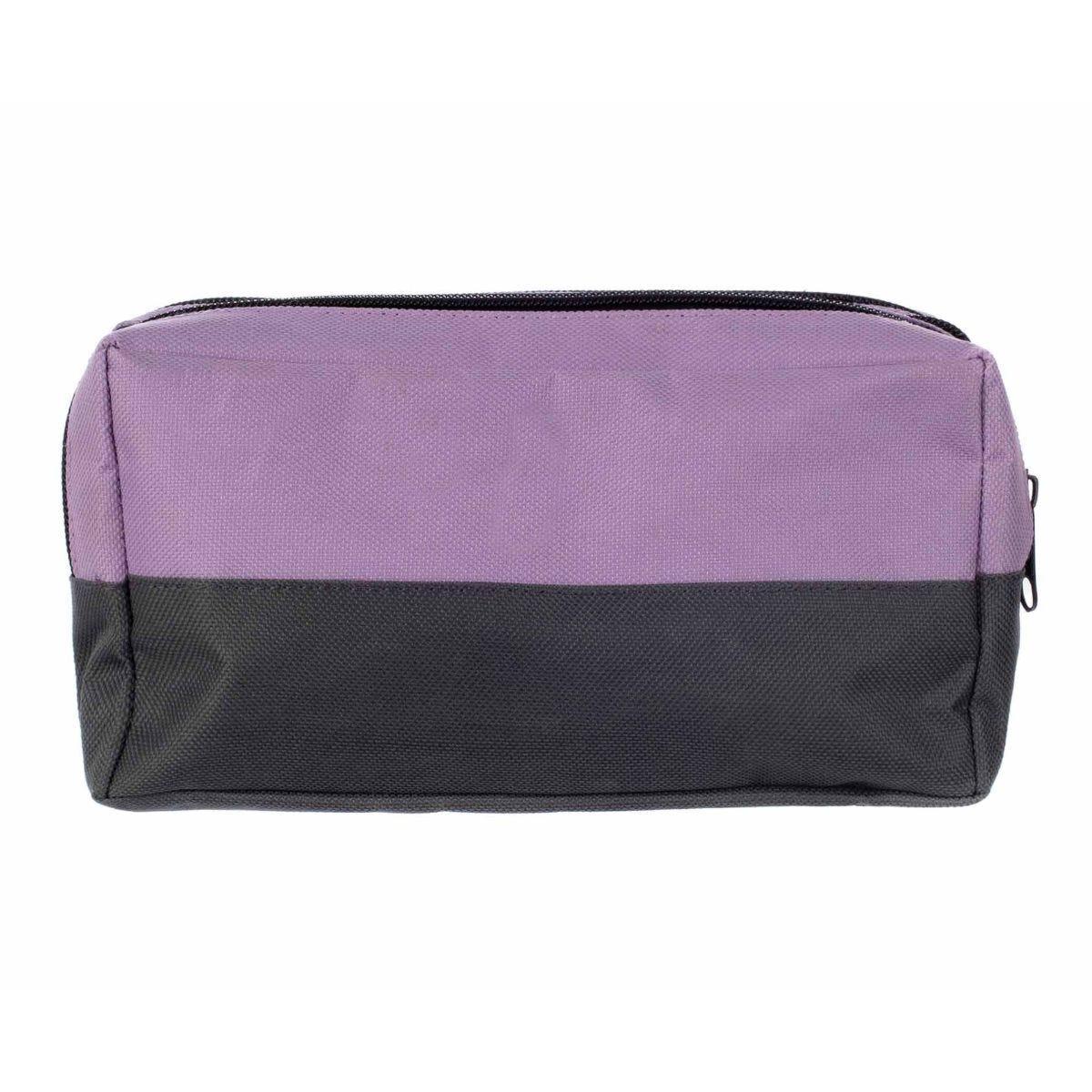 Triple Pocket Pencil Case Lilac
