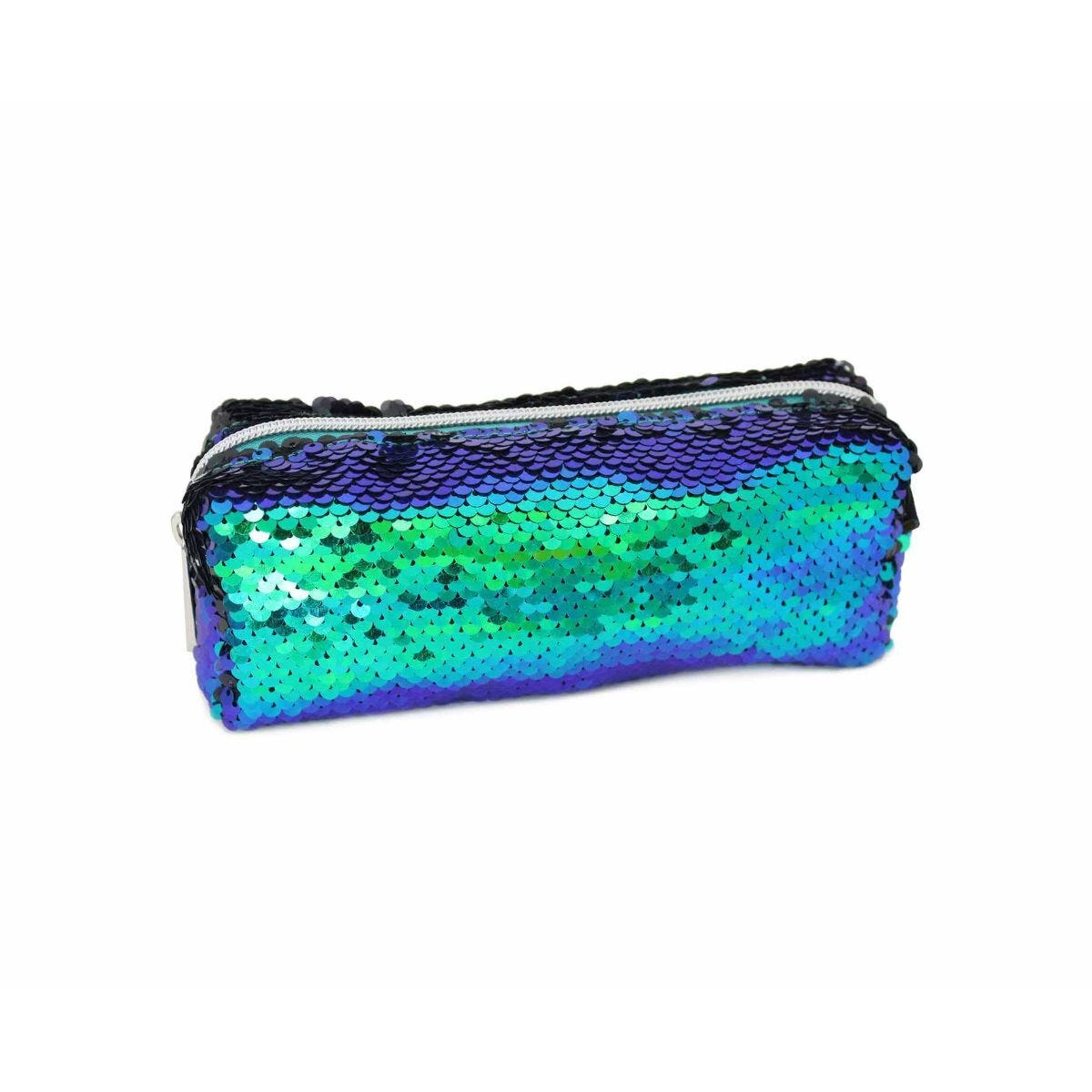Flipable Sequin Wedge Pencil Case Assorted