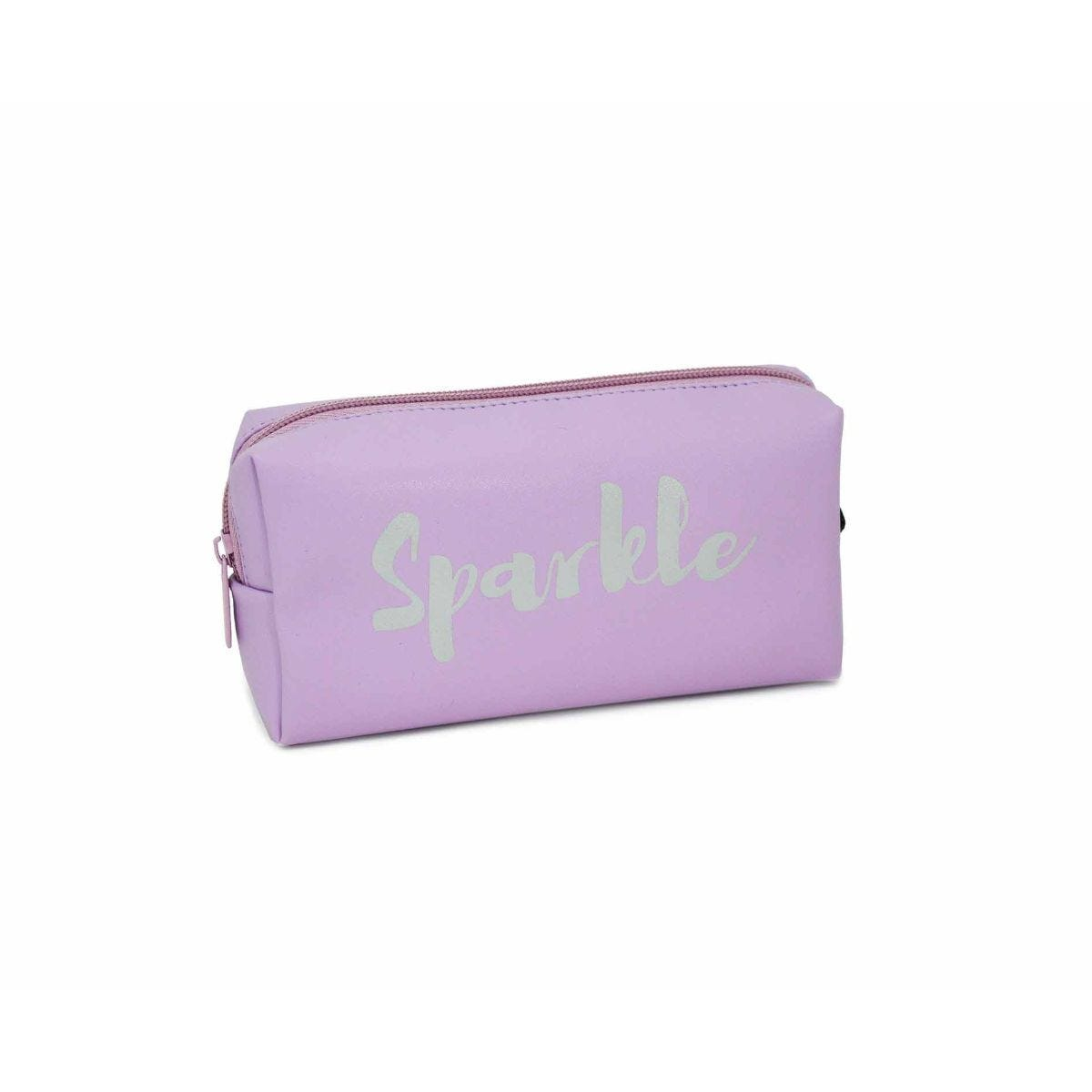 Sparkle and Shine Wedge Pencil Case Assorted