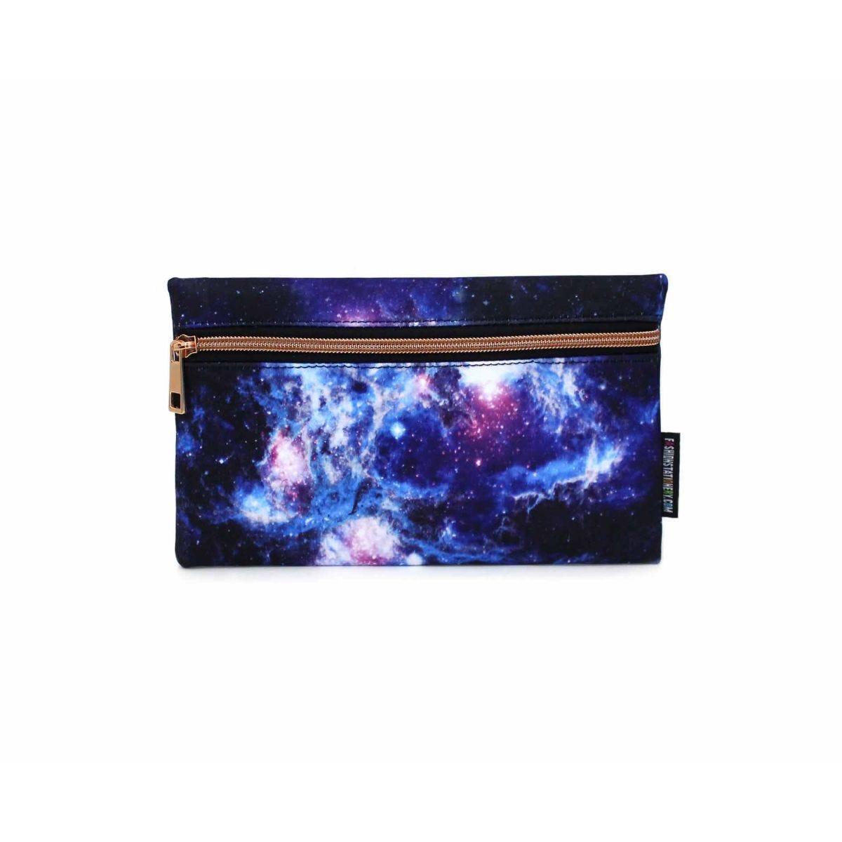 Galaxy Flat Pencil Case