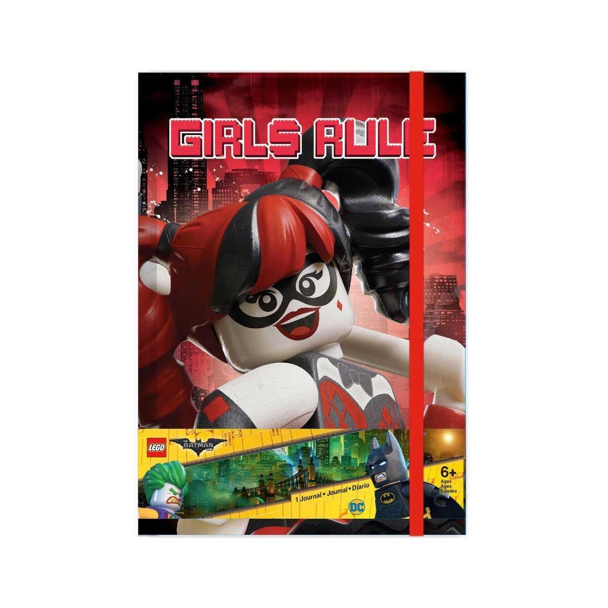 LEGO Batman Journal Harley Quinn