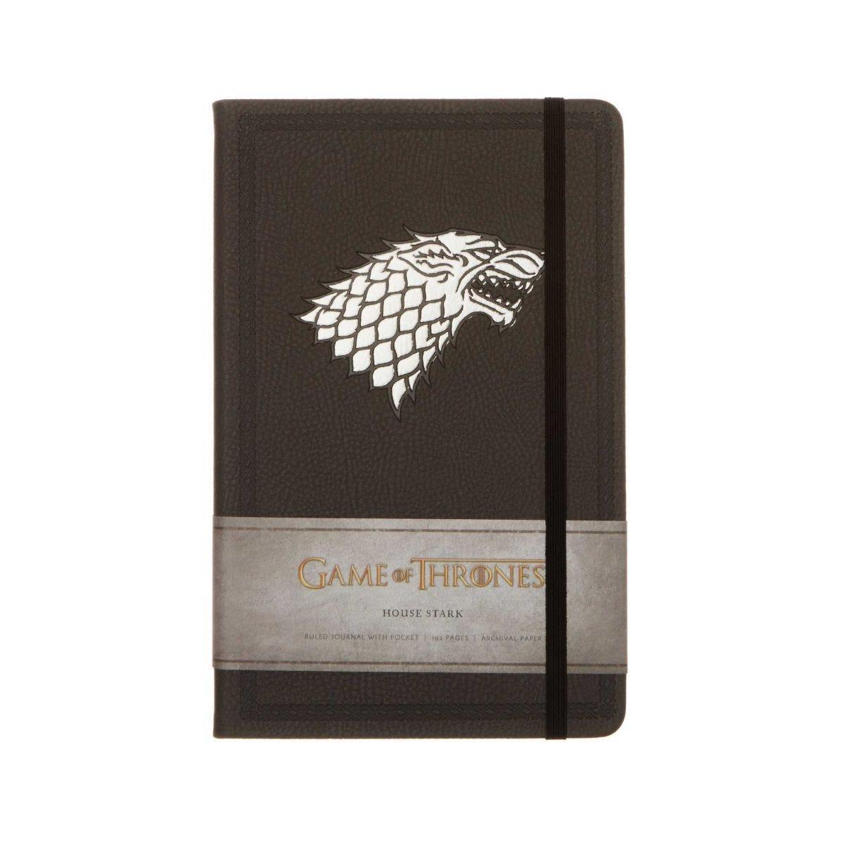 Game of Thrones House of Stark Ruled Journal