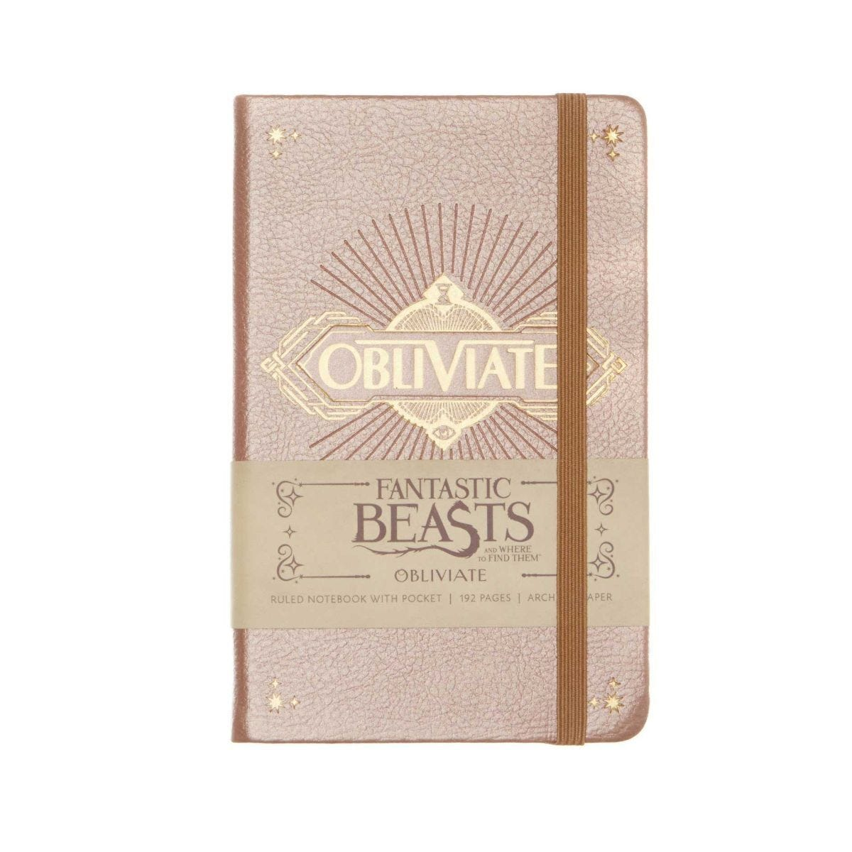Fantastic Beasts Obliviate Pocket Ruled Journal