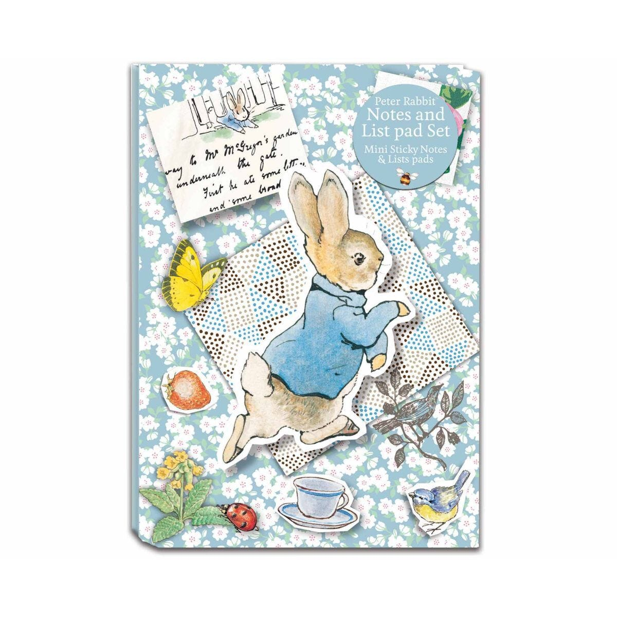 Peter Rabbit Notes and Lists Set